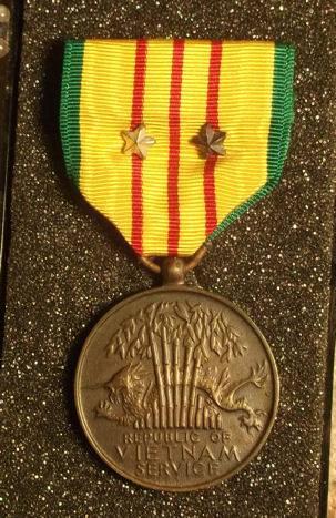 Joe's Vietnam Service Medal