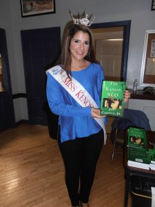 Miss Kenosha Kirsten Gonzales at Joe's book signing