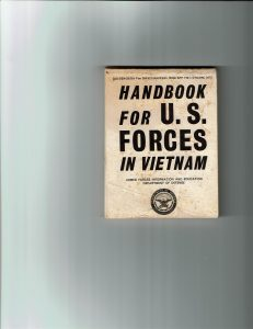 Joe's old handbook for U.S. Forces in Vietnam