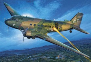 AC-47 gunship from the Vietnam War