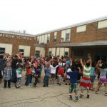 Grewenow Elementary School of Kenosha celebrate Veteran's Day